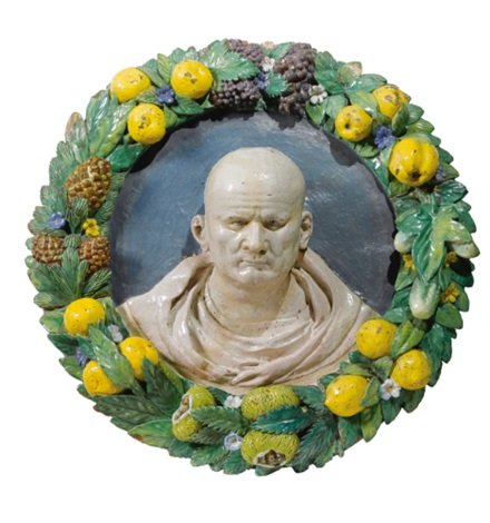 bust of the emperor vespasian by giovanni della robbia