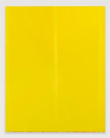 untitled yellow butterfly ii 782 by mark grotjahn