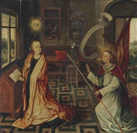 the annunciation by dieric bouts the elder