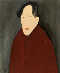 man with central parting by chiu ya-tsai