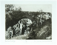 dulsit bridge (+ new treller; 2 works) by norman ackroyd