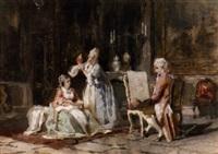 a tiresome sitter by camillo rapetti