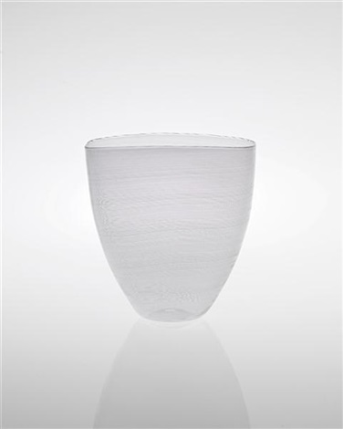 vase from the mezza filigrana series by carlo scarpa