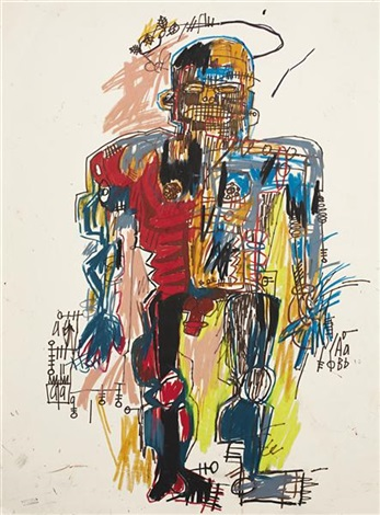 self portrait by jean michel basquiat