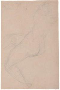 nus féminins (4 studies, various sizes) by achille emperaire