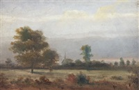 on the estate of baron diergard, marheim bei achlebush by henry lewis