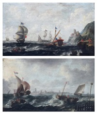 marines (pair) by flemish school (18)