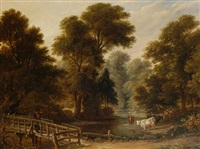gathering firewood by henry bryan ziegler
