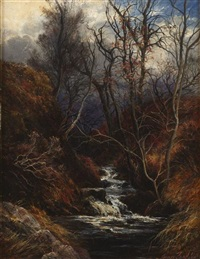 in a hill glen by james faed the younger