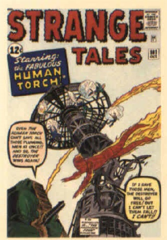strange tales no101 by dick ayers