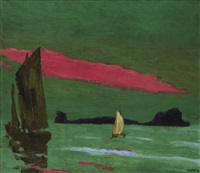südseeinsel (south sea island) by emil nolde