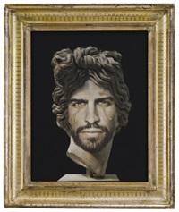 portrait of gerard piqué as apollo del belvedere by francesco vezzoli