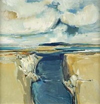 beaches and cloud, west coast by eric auld