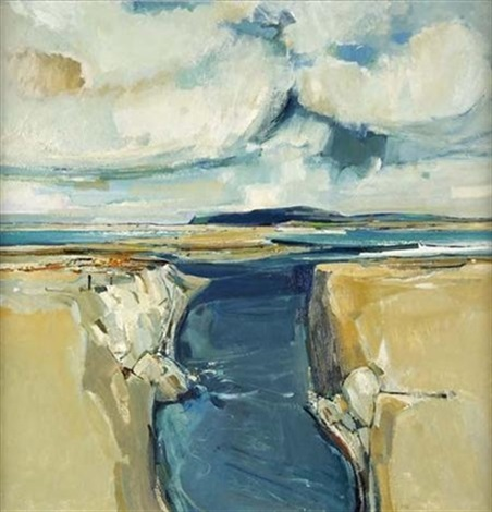 beaches and cloud west coast by eric auld