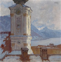 pfarrkirche in gmunden am traunsee by tony angerer