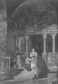 mass at st. mark's, venice by emanuel stöckler