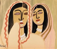 two women by zainul abedin