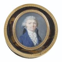 portrait d'homme by jean baptiste jacques augustin