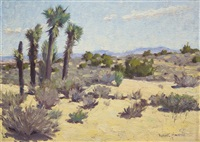 california desert, twentynine palms by victor clyde forsythe