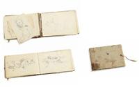 szkicownik (sketchbook w/24 pages) by woiciech (aldabert) ritter von kossak