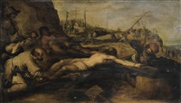 la crucifixion by frans francken the younger