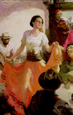 the danseuse by walter g ratterman