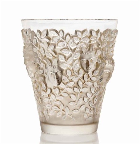 silènes vase no 10 923 by rené lalique