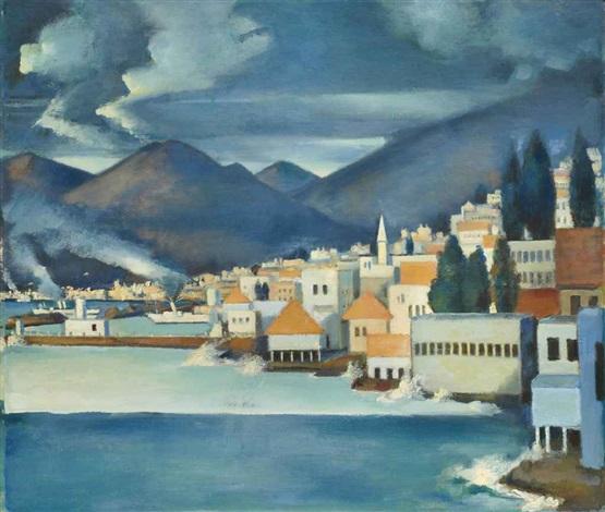 le port de beyrouth by mahmud said