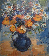 bloemenvaas by irène bataille