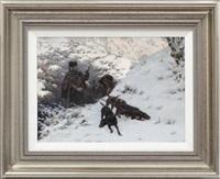 hunting scene by jaroslav friedrich julius vesin