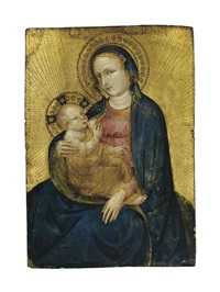 the madonna of humility by jacobello del fiore