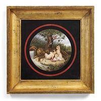 micromosaic plaque of romulus and remus by anonymous-italian (19)