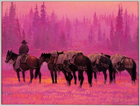 cranberry meadows head waters of the yellowstone by george d smith