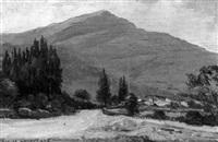 paisaje montañoso by ricardo gomez campuzano