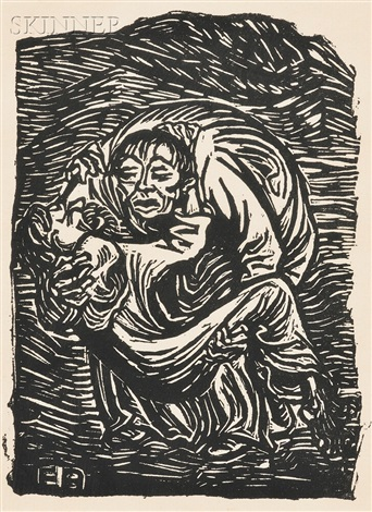 barmherzinger samariter the good samaritan by ernst barlach