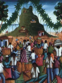 haitian market by phillippe salnave auguste
