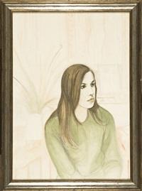 ritratto di giovane donna by francesco menzio