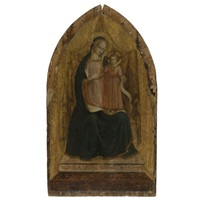 the madonna and child enthroned by fra angelico