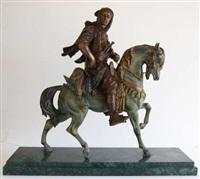 cavalier arabe by antoine-louis barye