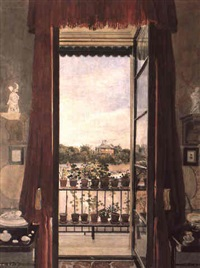 view of prince albert's swiss cottage by samuel dukinfield swarbreck
