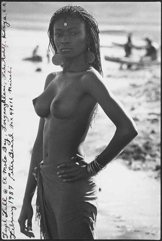 fayell tall at el molo bay loiyangilani lake rudolf kenya february by peter beard