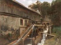 wassermühle by ludwig correggio