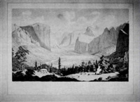 general view of the great yo-semite valley, mariposa county, california, from inspiration point by thomas almond ayres