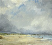 brittas bay, county wicklow by leo earley