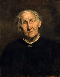 portrait wilhelmine klemm by oskar zwintscher