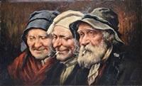 trois vieillards by roman arregui