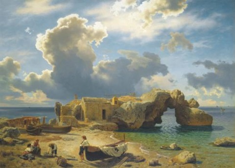 capri by august wilhelm leu