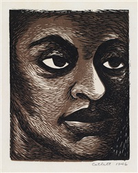 untitled (i am a negro woman) by elizabeth catlett