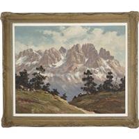 mountainous landscape by maximilian strasky