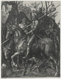 knight, death and the devil by albrecht dürer